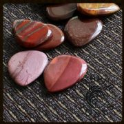 Jasper Tones - Rainbow Jasper - 4 Picks | Timber Tones